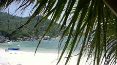 Stock video footage on the beach Samui Stock Footage