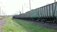 Freight wagons Stock Footage