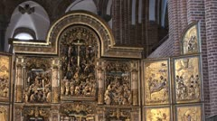Altar Roskilde HD Stock Footage