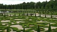 Stock Video Footage of Boxwood garden Frederiksborg HD