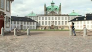 Stock Video Footage of Fredensborg guard
