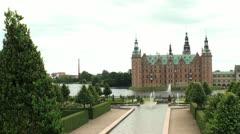 Frederiksborg Slot HD - stock footage