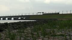 Great belt bridge HD Stock Footage