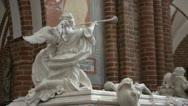 Stock Video Footage of Tombs of kings in Roskilde HD