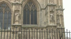 Beverley Minster Tower Stock Footage