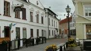 Older Swedish village Stock Footage