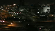Stock Video Footage of Tokyo Narita Airport at Night 05