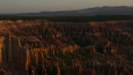 Bryce Canyon time lapse 03 Sunrise Stock Footage