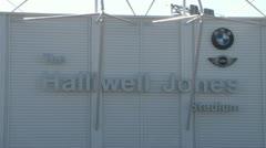 Warrington Wolves Halliwell Jones Stadium Stock Footage