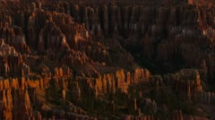 Bryce Canyon time lapse 02 - Hoodoo close up - stock footage