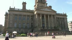 Bolton Town Hall Stock Footage