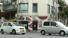 Ishigaki Okinawa Islands 17 traffic Stock Footage