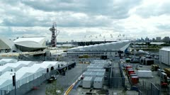 Olympic Park London 2012 Olympic Games - stock footage