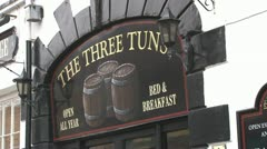 The Three Tuns Stock Footage