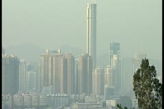 City in Hong Kong by DJM Stock Footage