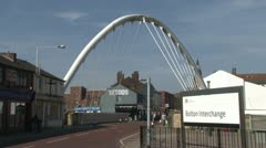 Bolton Arch Stock Footage