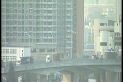 Hong Kong traffic highway by DJM Stock Footage