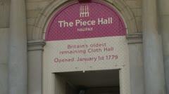 Piece Hall Entrance Stock Footage