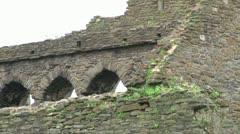 Swansea Castle Stock Footage