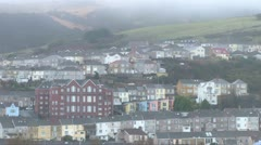 Welsh Valleys Housing Stock Footage