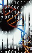 Biological computing Stock Illustration