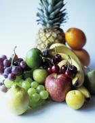 selection of fruits - stock photo