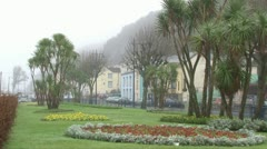 The Mumbles Gardens Stock Footage