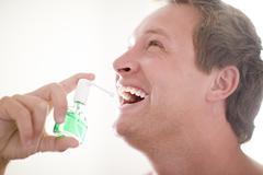 Breath freshener Stock Photos