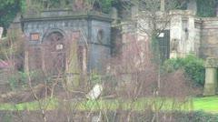 Necropolis Graveyard Stock Footage
