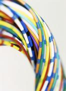 Stock Photo of computer wires