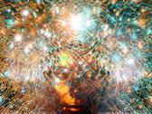 Artificial intelligence, artwork Stock Illustration