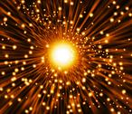 Supernova explosion, artwork Stock Illustration