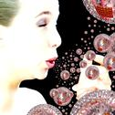 Flu virus spreading, artwork Stock Illustration