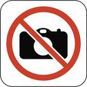 No cameras symbol, artwork Stock Illustration