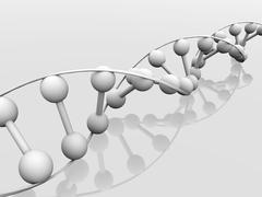 Stock Illustration of dna molecule, conceptual artwork