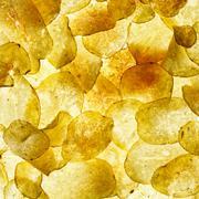 crisps - stock photo
