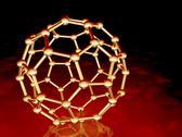 Buckminsterfullerene molecule Stock Illustration