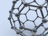 Buckminsterfullerene molecule Stock Illustration