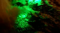 Multicolor water foam Stock Footage