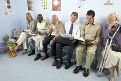 General practice waiting room Stock Photos