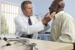 medical consultation - stock photo