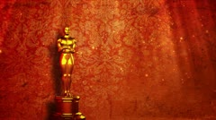 Oscar red carpet - stock footage