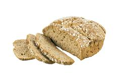 Brown soda bread. Stock Photos