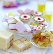 Stock Photo of cakes and sweets