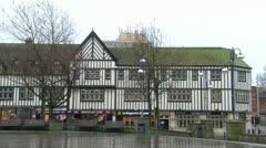 Castle Square Swansea Stock Footage