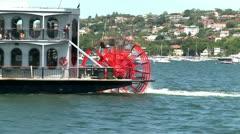 Steamer in Sydney - stock footage