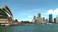 Stock Video Footage of Sydney Opera House