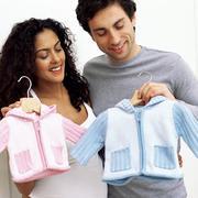 Expectant parents Stock Photos