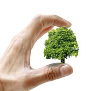 Environmental care, conceptual image Stock Photos