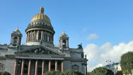 The Isaac's Cathedral Stock Footage